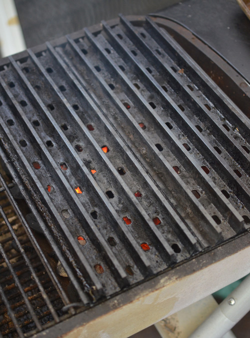 GrillGrates on a PK Grill