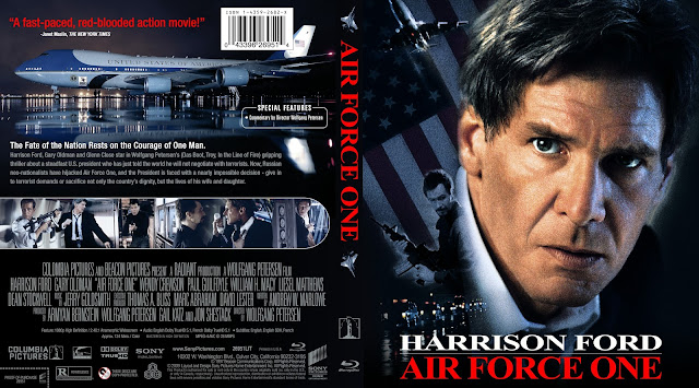 Air Force One Bluray Cover