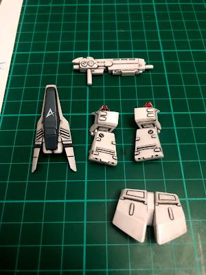 G Generation-F SD BB Senshi RX-93 Nu Gundam G Generation-F SD BB Senshi RX-93 Nu Gundam HWS Parts