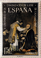 II CENTENARIO DE LA CANONIZACIÓN DE SAN JOSE DE CALASANZ