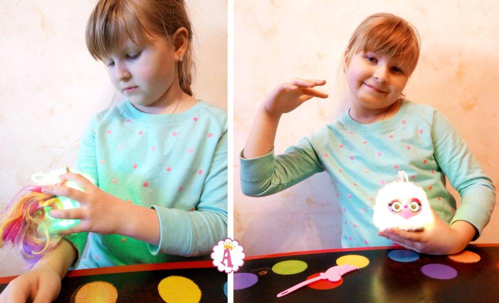 Как играть с Помси Луми инструкция к интерактивному единорогу Pomsies Lumies