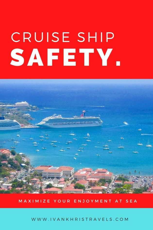 How to be safe in cruise ships
