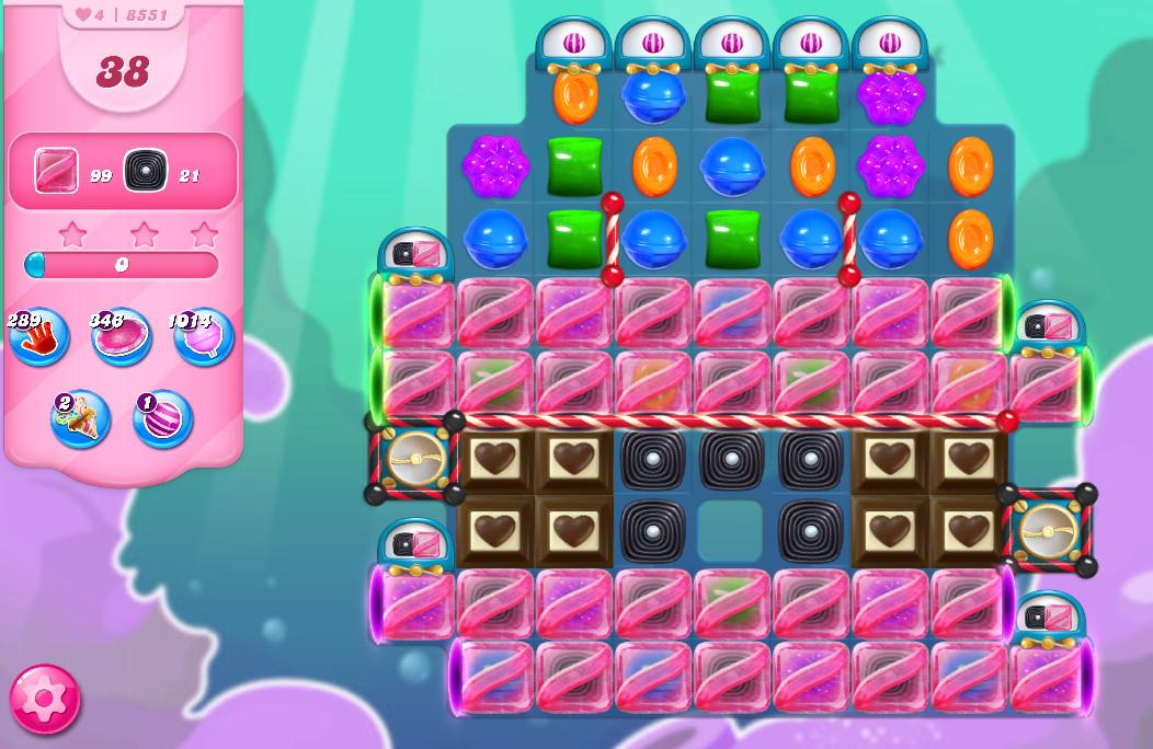 Candy Crush Saga level 8551