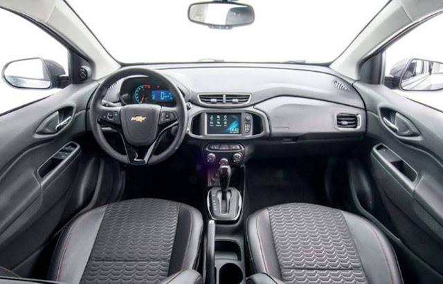Novo Chevrolet Onix 2017 - interior