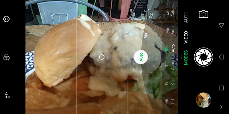 The camera interface