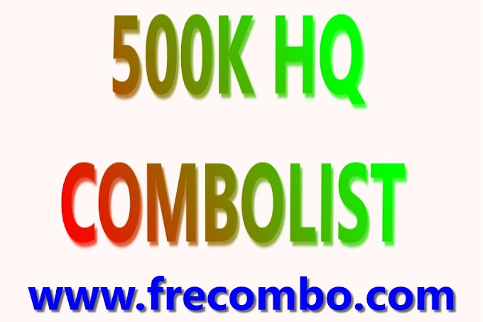 500K HQ COMBOLIST FOR [GAMING,SHOPPING,STREAMING,VPN,MORE....]