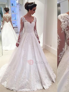 http://www.tidebuy.com/product/Charming-V-Neck-Appliques-A-Line-Wedding-Dress-12436433.html