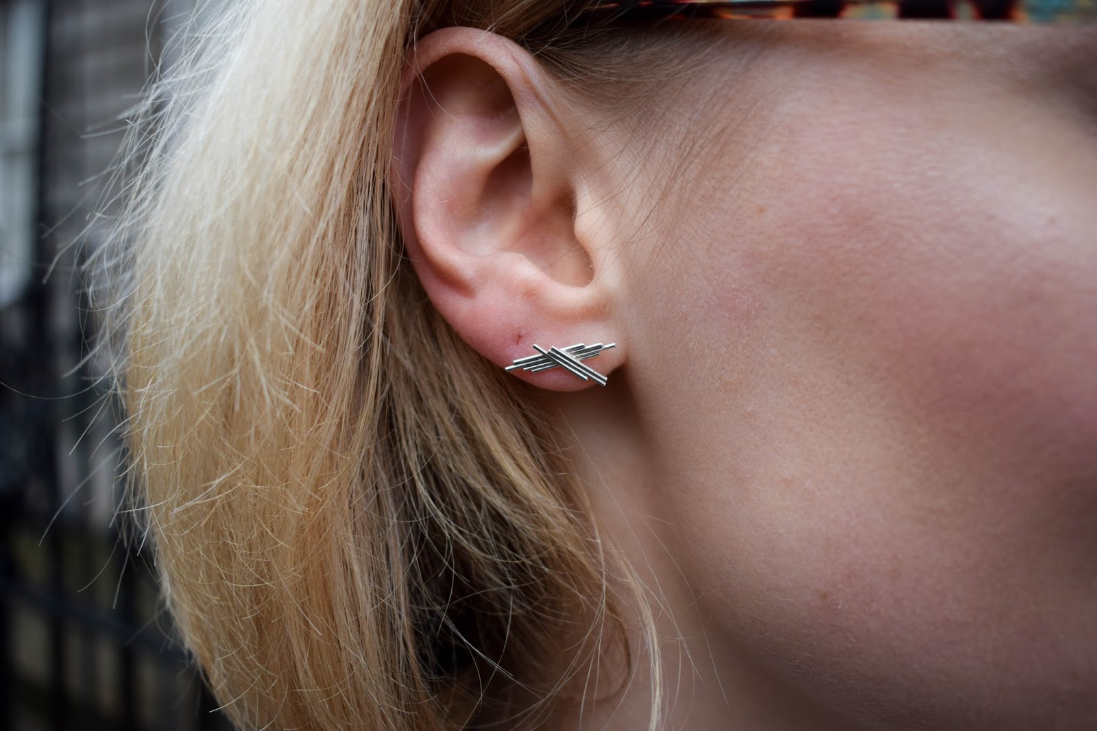 Elizabeth Humble jewellery design, award winning jewellery design, architecture inspired earrings in edinburgh,