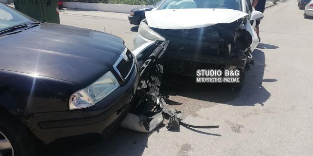 Τροχαίο ατύχημα στη Νέα Κίο Αργολίδας με τραυματία