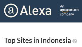 10 Situs Dengan Alexa Tertinggi di Indonesia Tahun 2018
