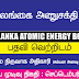 Sri Lankan Atomic Energy Board - Director General / Chief Executive Officer
