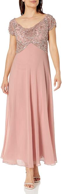 Elegant Pink Mother of The Bride Dresses