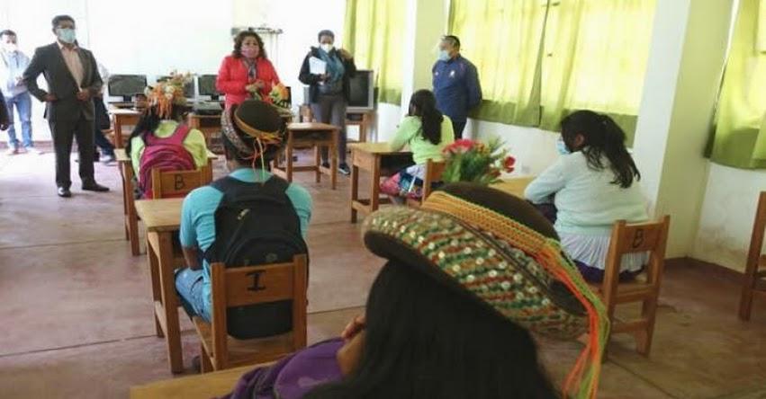 MINEDU dialoga con escolares y docentes para reforzar Aprendo en Casa 2021