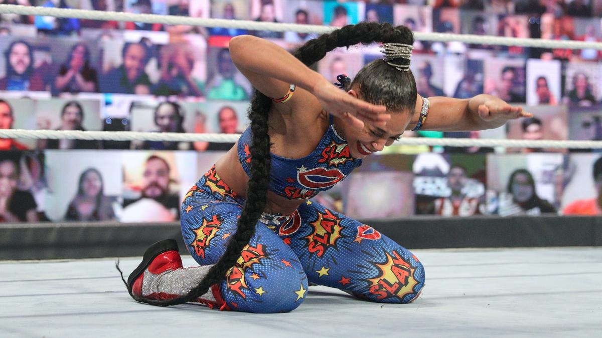 Bianca Belair at 2021 WWE Royal Rumble