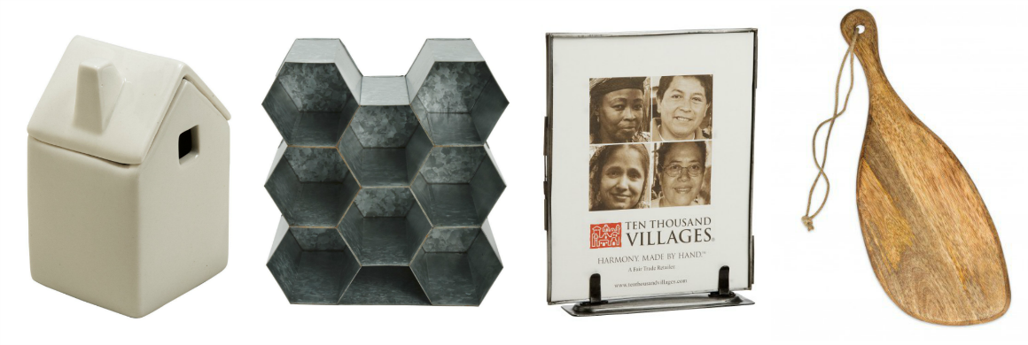 get the hearth and hand look fair trade and ethical with Ten Thousand Villages