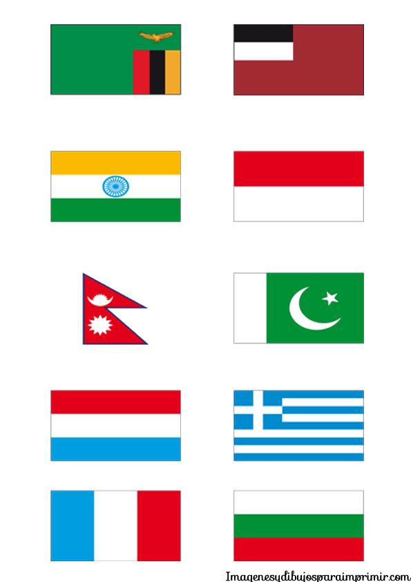 Banderas para imprimir   Imagenes y dibujos para imprimir