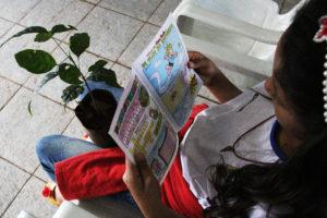 Foto 2 300x200 - Estudantes do CEF Boa Esperança participam de ações no Parque Três Meninas incentivam preservação ambiental