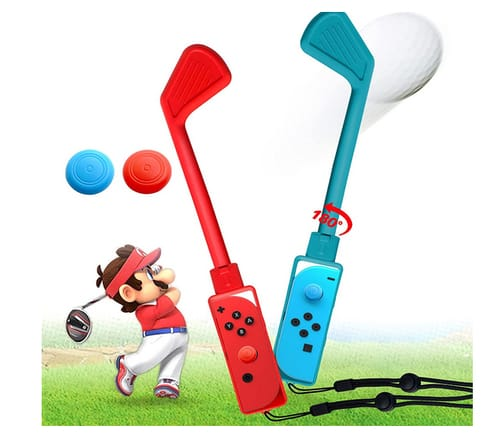 ZJRUI Mario Golf Club Controller for Switch