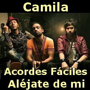 Camila Alejate De Mi Facil Acordes D Canciones
