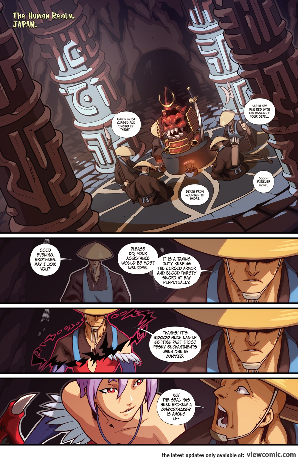 street fighter vs darkstalkers comic