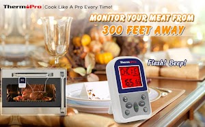 Review of ThermoPro TP11 Wireless Remote Digital Cooking Food Meat Thermometer