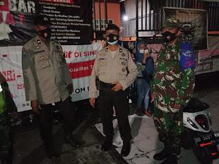 Dukung PPKM Level IV, Polres Pelabuhan Makassar bersama Pemerintah Kota Awasi Protokol Kesehatan