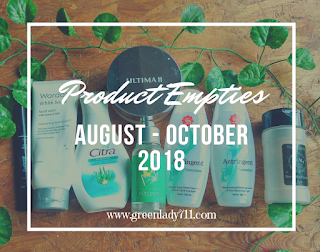product-empties-august-october-2018