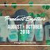 [Product Empties] August - October 2018