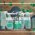 [Product Empties] August - October 2018