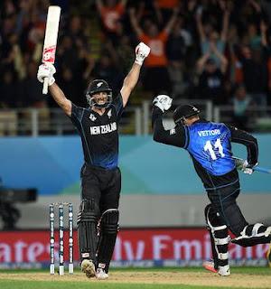 Grant Elliott 84* - New Zealand vs South Africa Highlights - 1st Semi-Final - ICC Cricket World Cup 2015