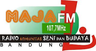 Logo Radio Maja FM Bandung