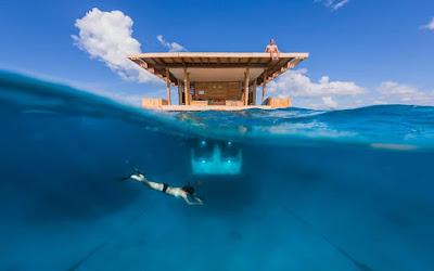 Habitación debajo del agua
