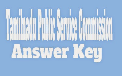 TNPSC Answer Key 2017