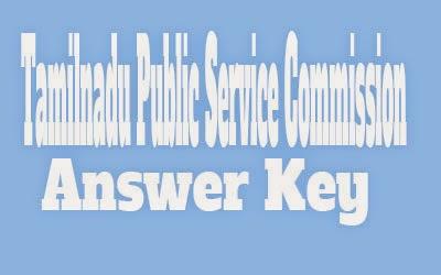 TNPSC Answer Key 2016