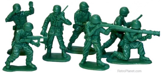 Cool Toy Army Men : Toy boarders are totally cool epic childhood