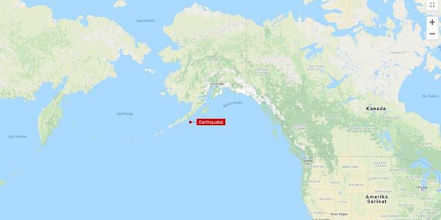 Peringatan Tsunami Diaktifkan Usai Gempa Magnitudo 8,2 Guncang Alaska