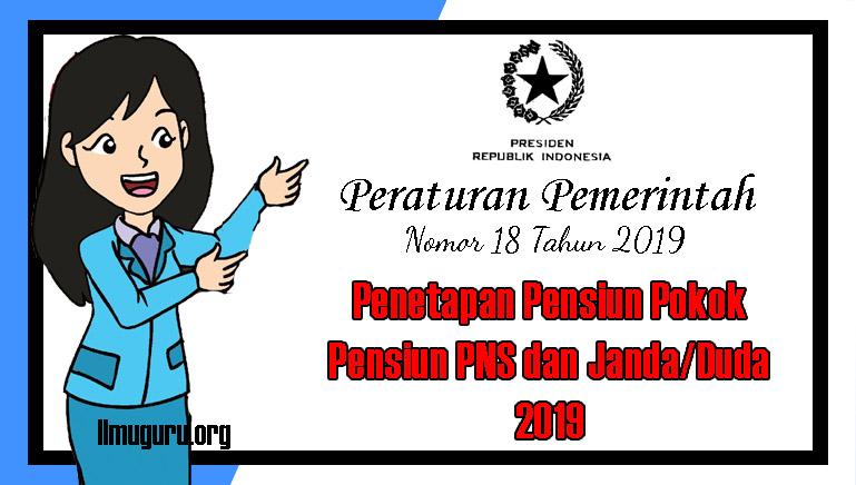 PP Nomor 18 Tahun 2019