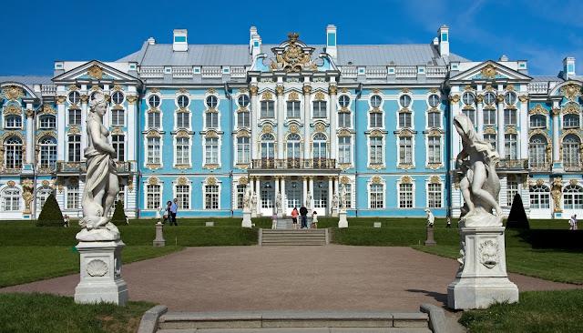 Екатерининский дворец в Царском селе, Россия