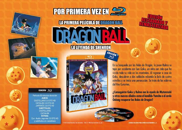DRAGON BALL: LA LEYENDA DE SHENRON