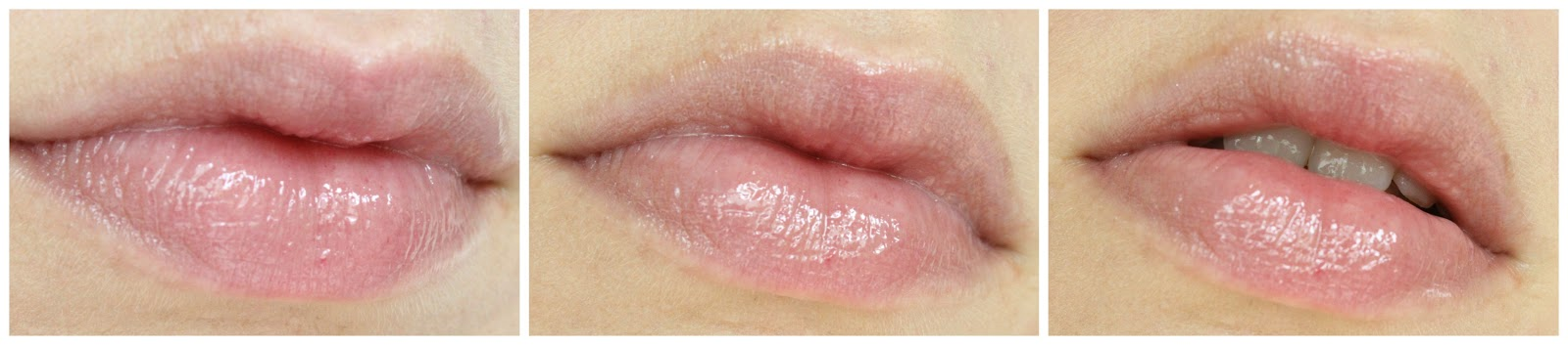 Lippen mit Clinique Superbalm Moisturizing Gloss Grapefruit
