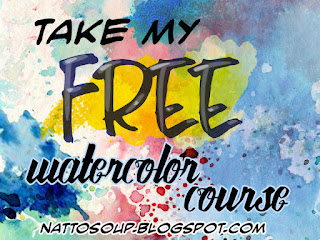 online watercolor course