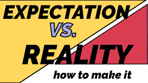 images for blogger expectations vs reality