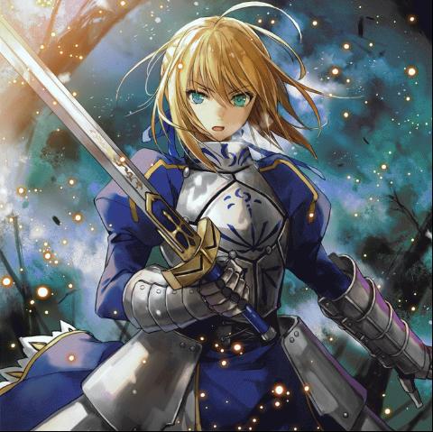 Saber Adalah Protagonis Wanita Utama Dalam Anime Fate Series Yang Menjadi Servant Dari Emiya Kiritsugu Zero Dan Shirou Stay Night