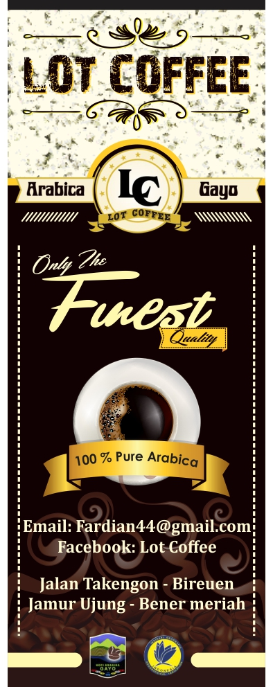 Contoh Banner Coffee - Contoh O
