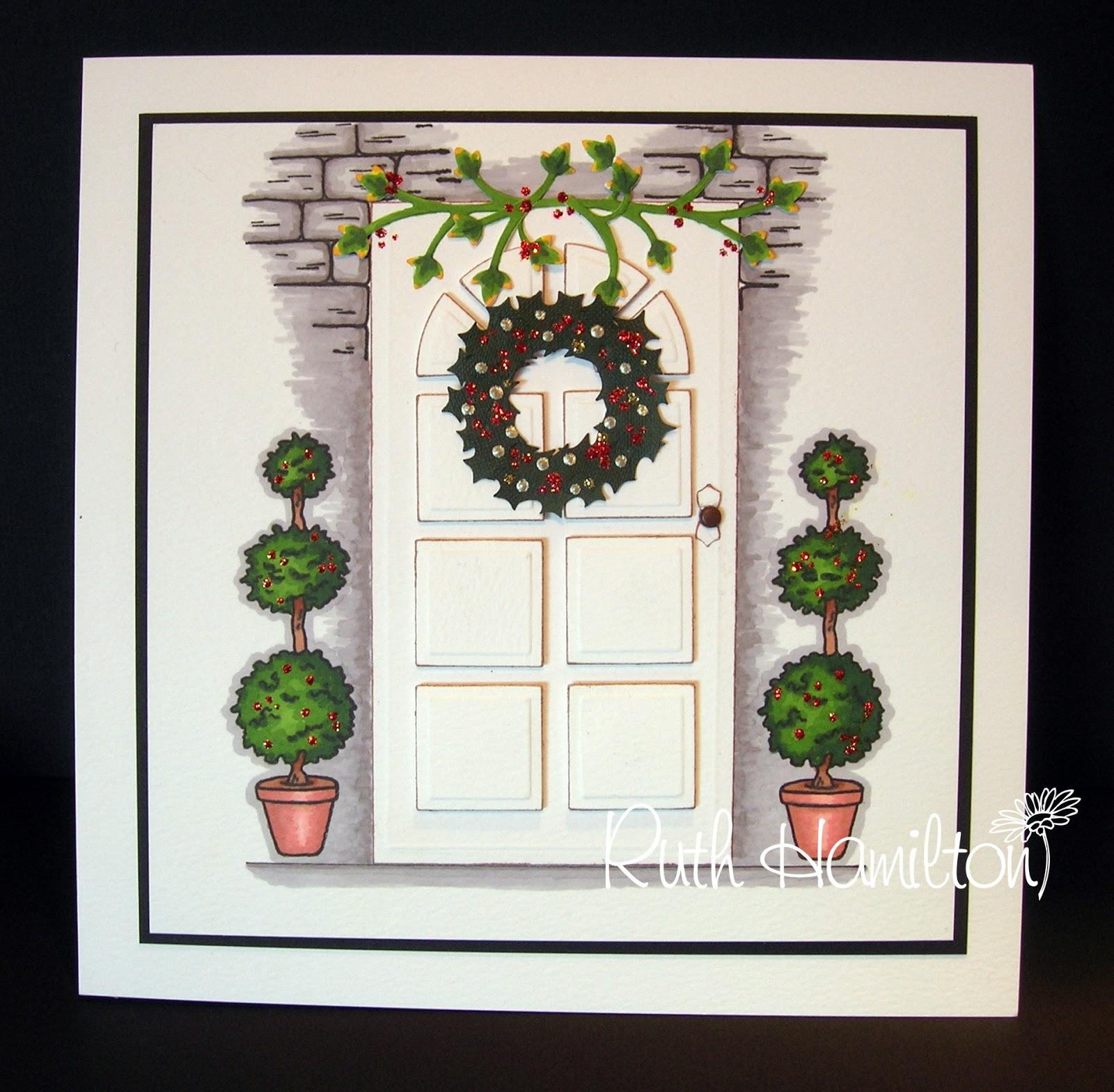 Die Cut Christmas Cards
