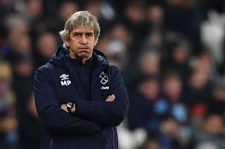 West Ham sack Pellegrini