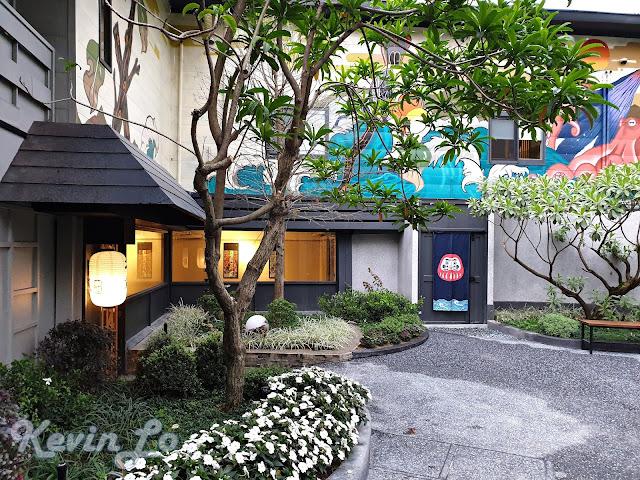 東旅湯宿溫泉飯店-風華漾館後棟的庭園