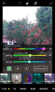 Cara Merubah Warna Objek Pada Foto di Android