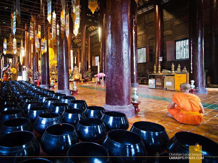 Wat Phan Tao Interior at Wat Chedi Luang Chiang Mai