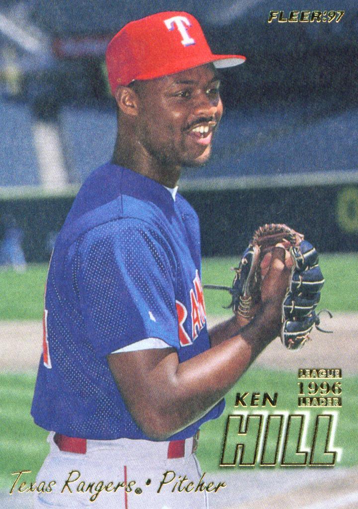 Texas Rangers Cards Best Seasons Ken Hill 1996